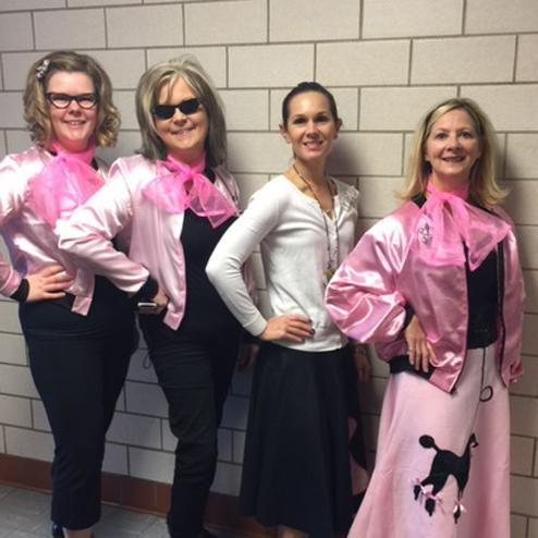 50's for the 50th Day of School