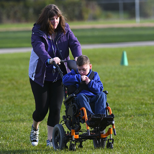 Wheel Chair at Walk A Thon