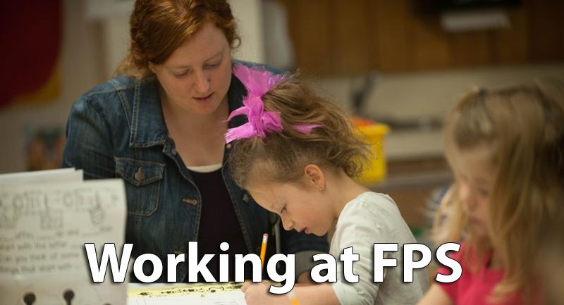Working at FPS - Teacher and student