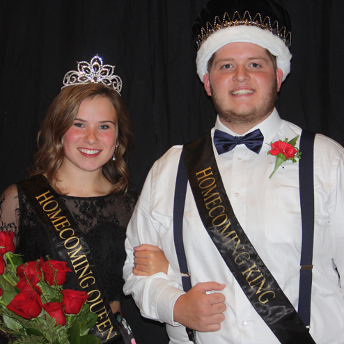 2017 Homecoming King & Queen