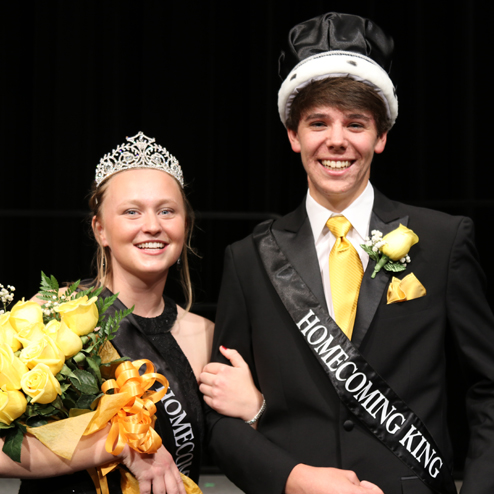 2019 Homecoming King & Queen