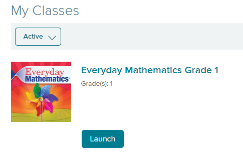 Everyday Math Launch
