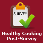 Healthy Cooking Post-Survey
