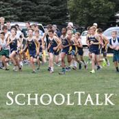 group of cross country people running