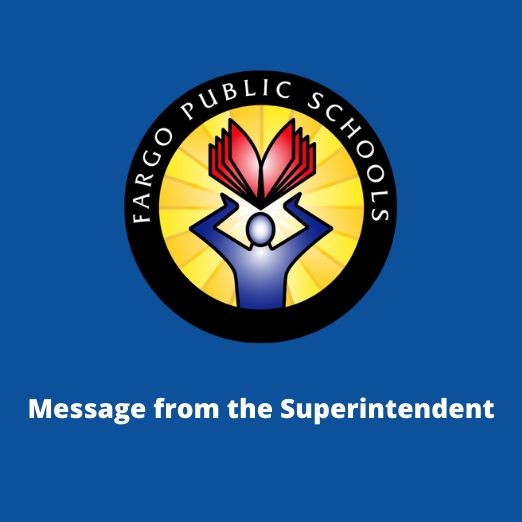 superintendent message