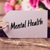 Ssign that says Mental Health