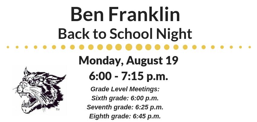 Ben Franklin Middle School / Homepage