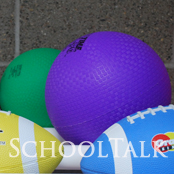 colorful sports balls