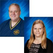 photo portraits of Colin Kloster and Leah Juelke
